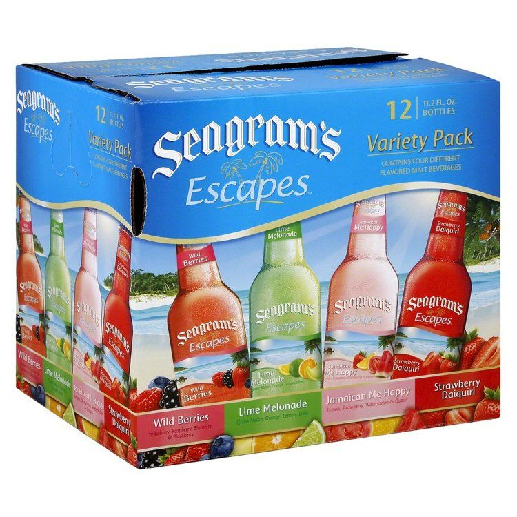 Seagrams Seagram S Escapes Malt Beverage Variety Pack 12 Oz 12 Pk Reviews Find The Best Products Influenster Flavored Drinks Alcohol Recipes Mango Flavor