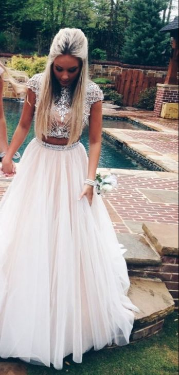 Two-piece! | Dresses, Endlessly. | Pinterest | Prom, Homecoming and ...