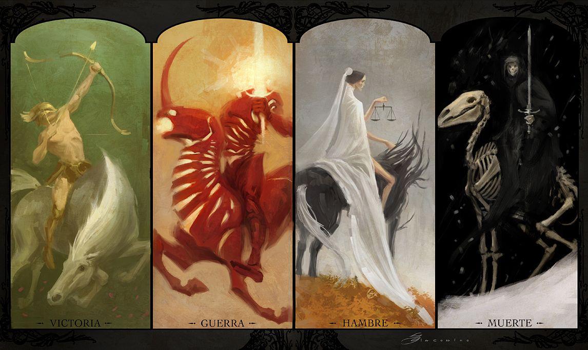 TIME OF TRIBULATION Pestilence horseman, Horsemen of the