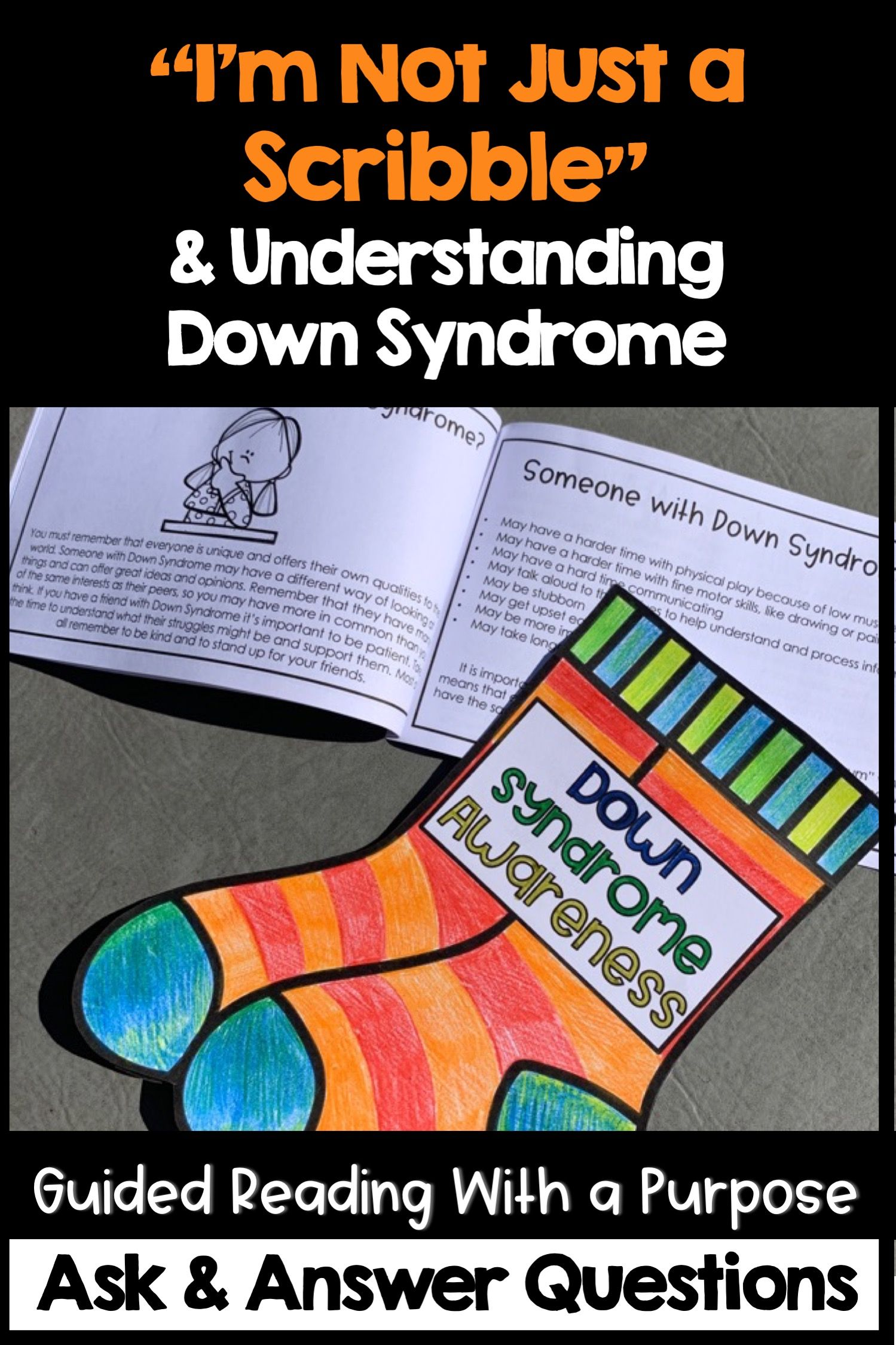 I M Not Just A Scribble Amp Understanding Down Syndrome