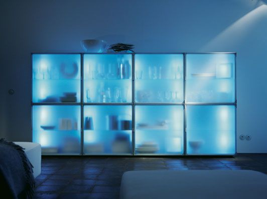 Modern Storage Cabinets With Cool Illumination Eo By Interluebke Digsdigs