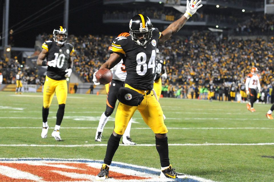 Antonio Brown Is Ready for the Ravens Pittsburgh