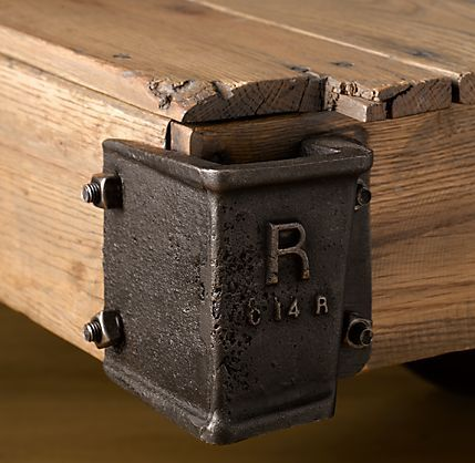 industrial furniture hardware. Two Reclaimed Tables From Restoration Hardware. Industrial BedroomIndustrial LightingIndustrial FurnitureIndustrial Furniture Hardware Pinterest