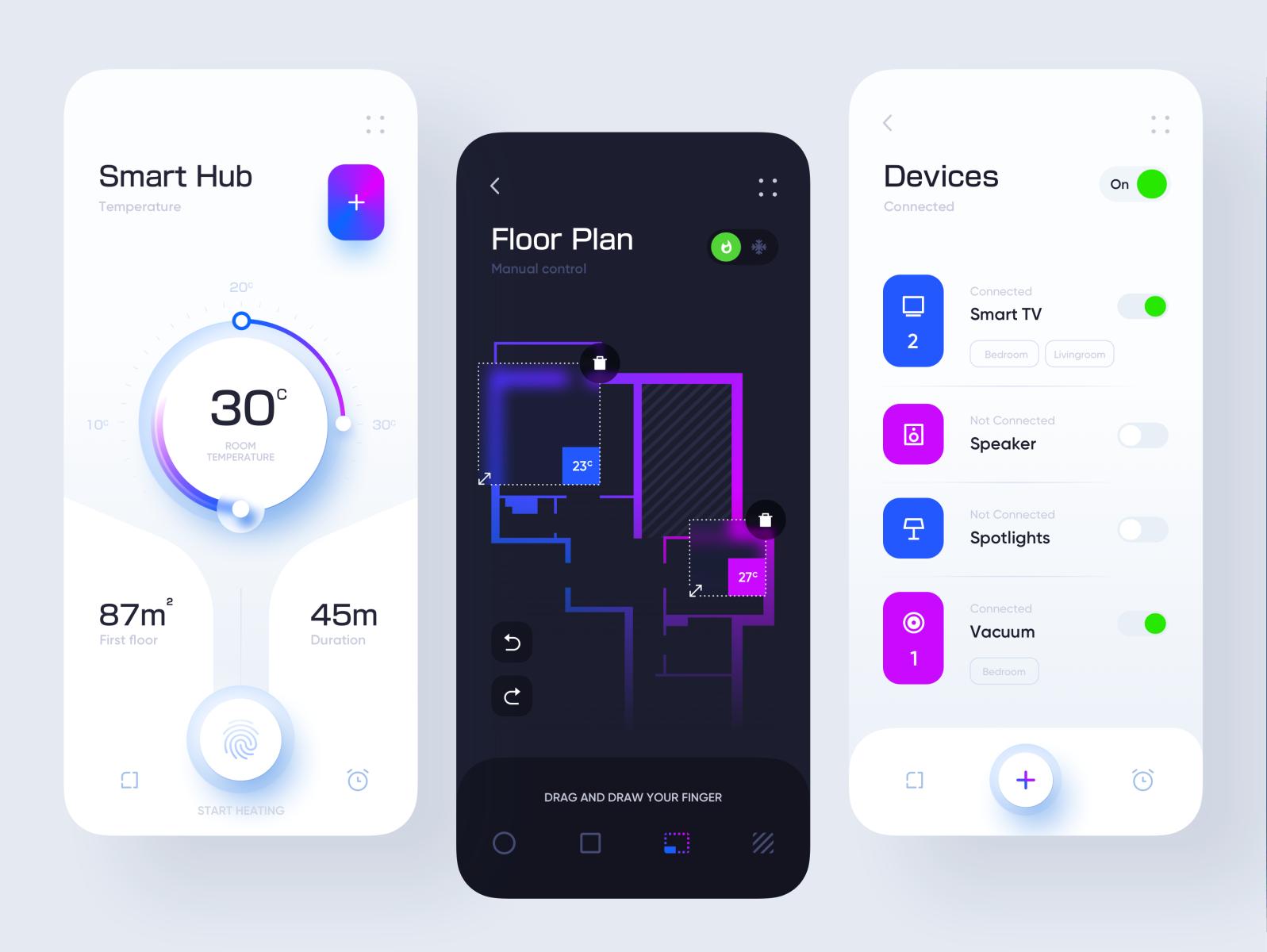 Smart Hub Application Design Application Design Web Application Design App Design