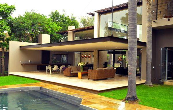 Losas Con Tensores Y Sin Columnas Diseño De Terraza
