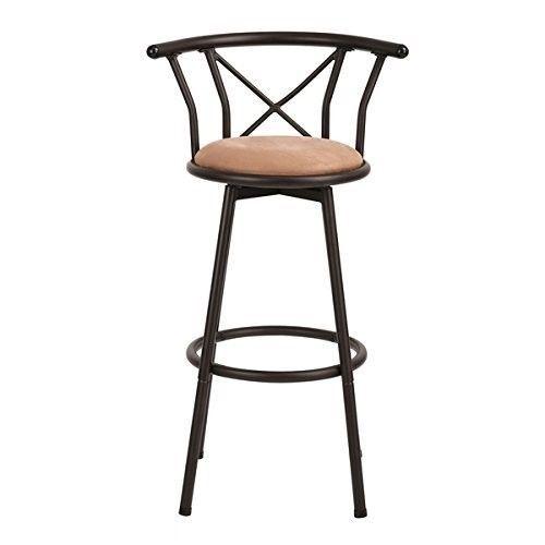 Ebay Bar Stool With Back Modern Metal Kitchen Swivel Seat