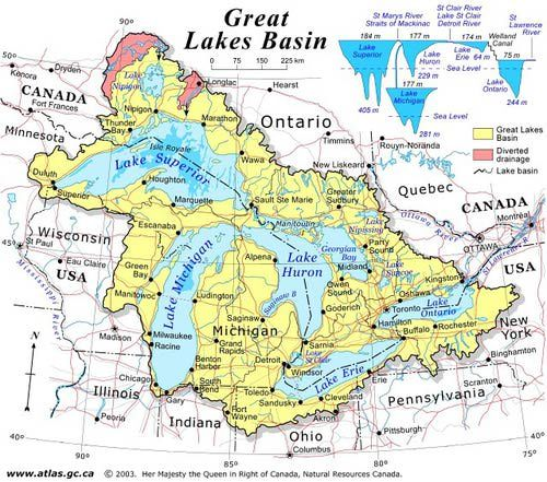 Lakes Of Canada Map.Discover Canada With These 20 Maps In 2019 Ideas Great Lakes Map