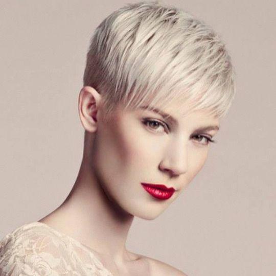 edgy pixie Pixie cut Pinterest - cortes de cabello corto para mujer