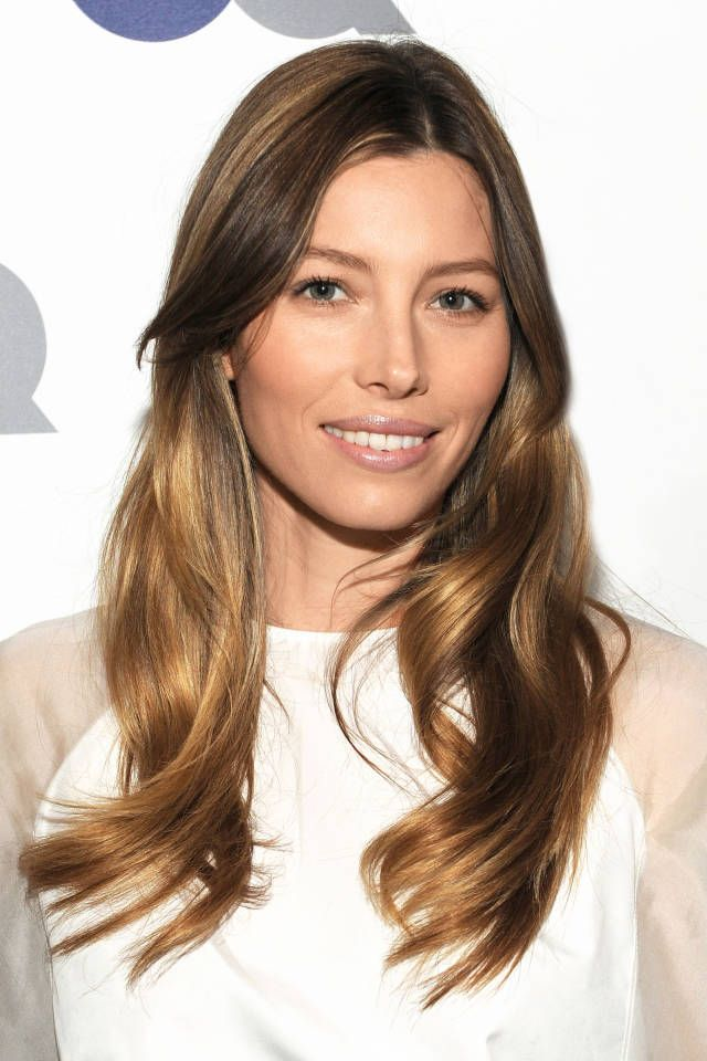 the top hair color for winter jessica biel autumn and bazaars