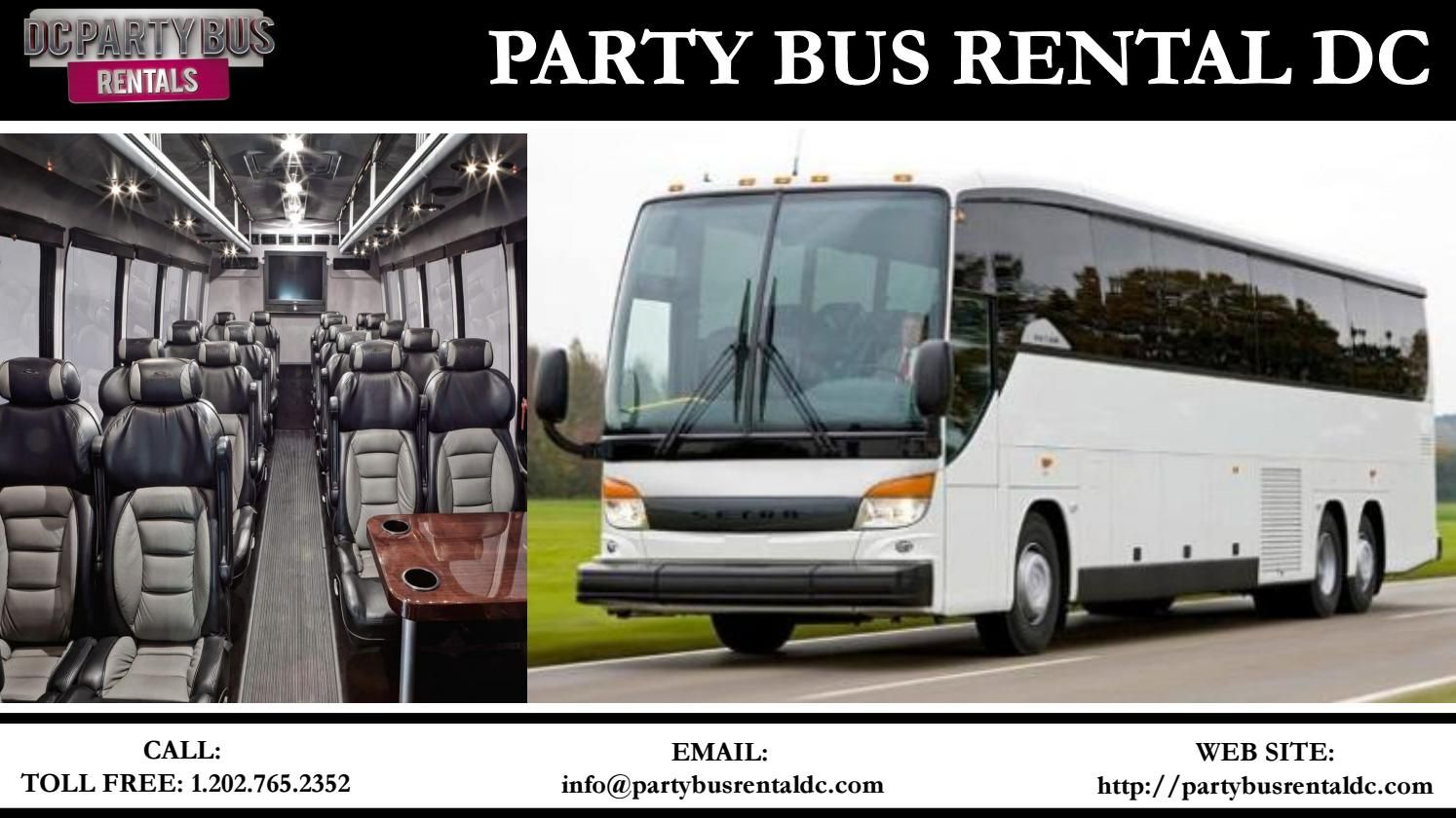 Elopement Elevating Party Or Charter Buses For Rent Party Bus