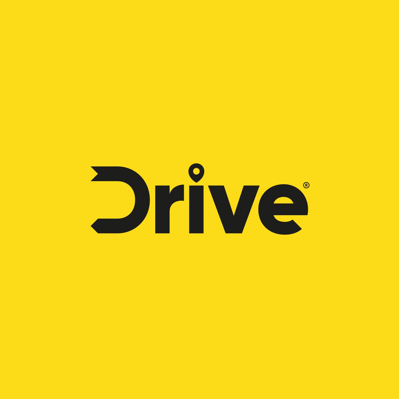 Drive - Rideshare taxi service logo | Beast Identities