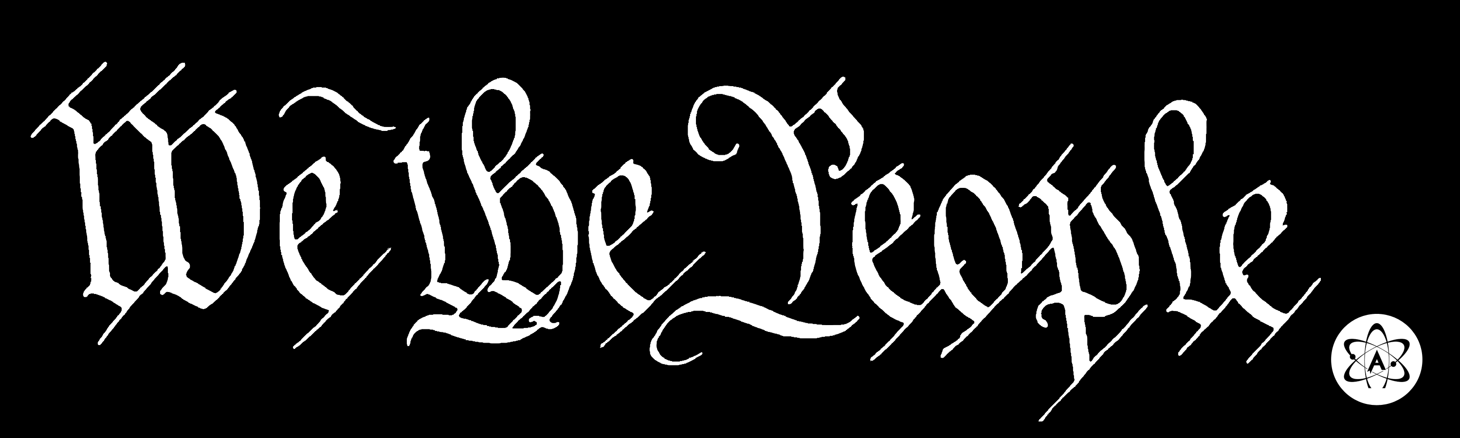 We The People Bumper Sticker We The People Bumper Stickers Peace Gesture
