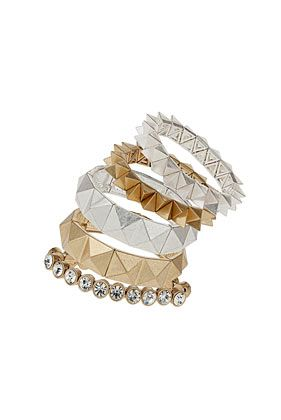 Premium Spike Mixed Bracelet Pack - Jewelry  - Bags & Accessories