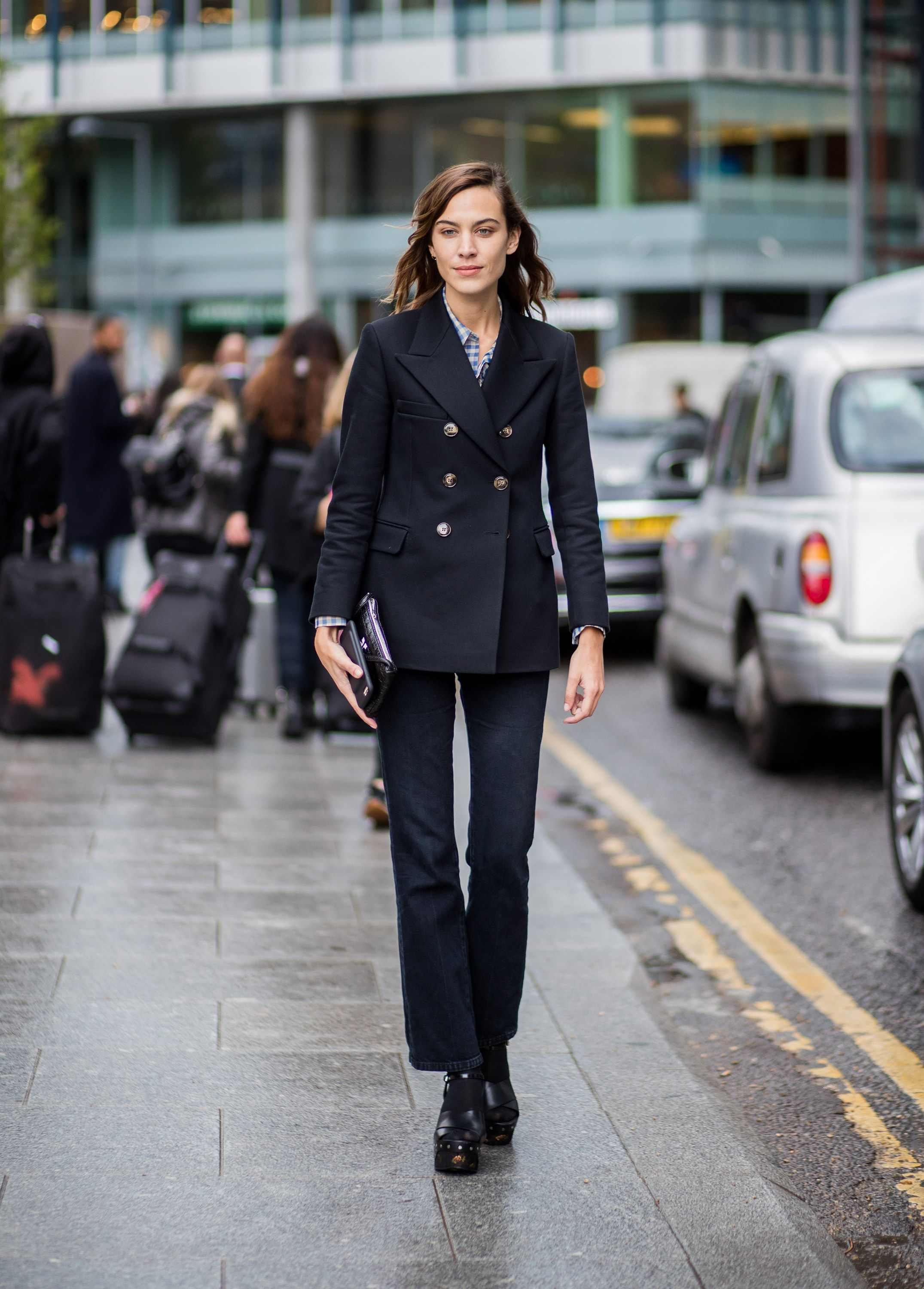 68df638d6e3 Alexa Chung Does Fall Layering Like a London It Girl in 2019
