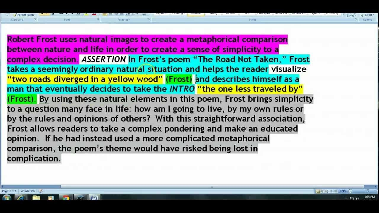 A Guide to Writing an Analytical Paragraph mp4 Essay