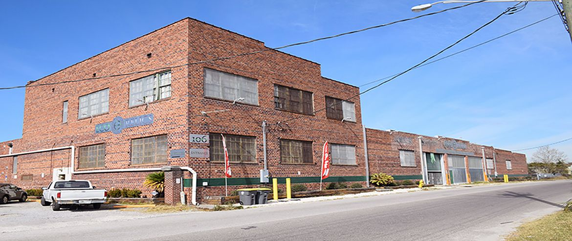 Eco Relics 50,000 sq. ft. warehouse with building