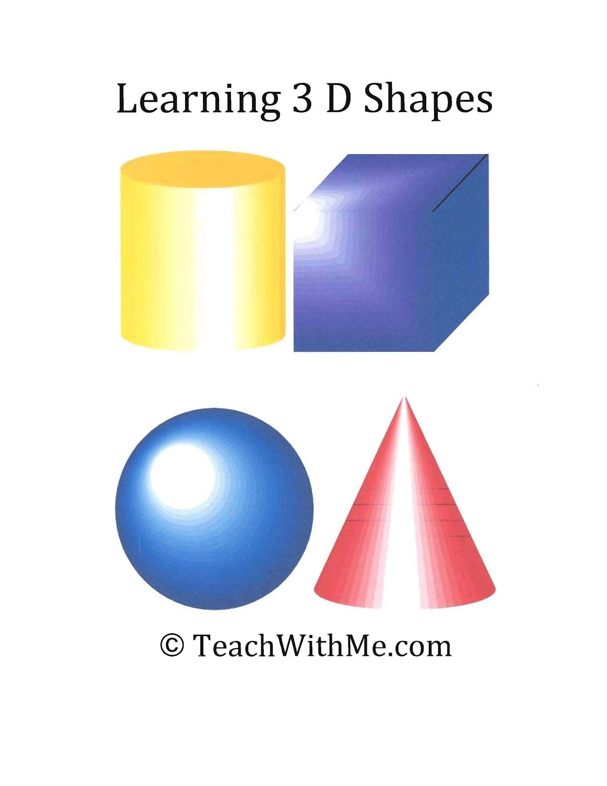 Learning 3 D Shapes
