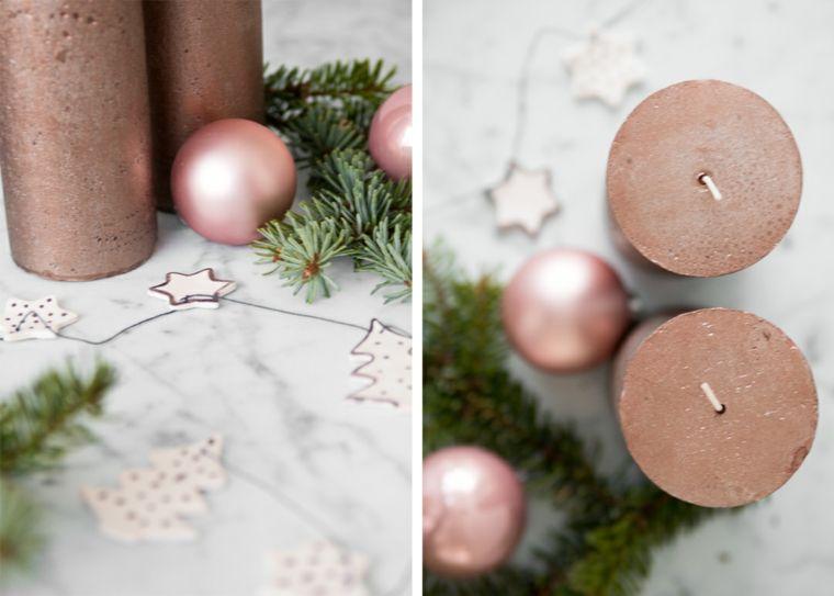 Lavoretti Di Natale Con Pasta Fimo.Ghirlanda Con Ornamenti Natalizi Di Pasta Fimo E Candele Lavori Natalizi Fatti A Mano Natale Addobbo Idee