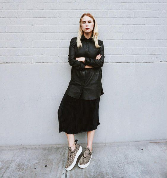 Pin for Later: Mercury Is Out of Retrograde; Here's What to Wear Now Make Sneakers the Focal Point of Your Entire Look