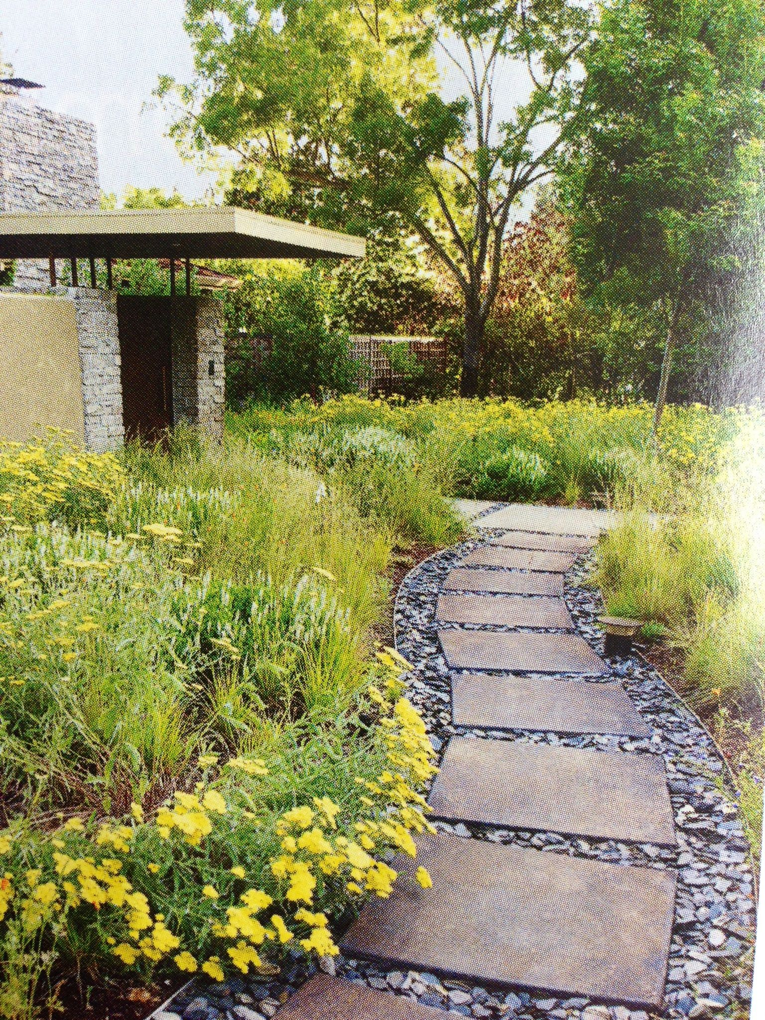 Featured In Sunset Magazine October 2011 Page 60 Easy Garden Garden Pathway Front Yard Landscaping Design