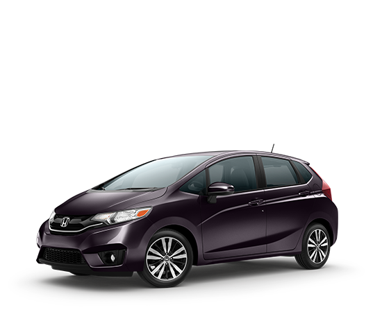 The Honda Fit in Passion Berry Pear color. Pretty. Has the largest truck/hatch space of any subcompacts thus far. The EX version comes with the audio options I want and Manual transmission.