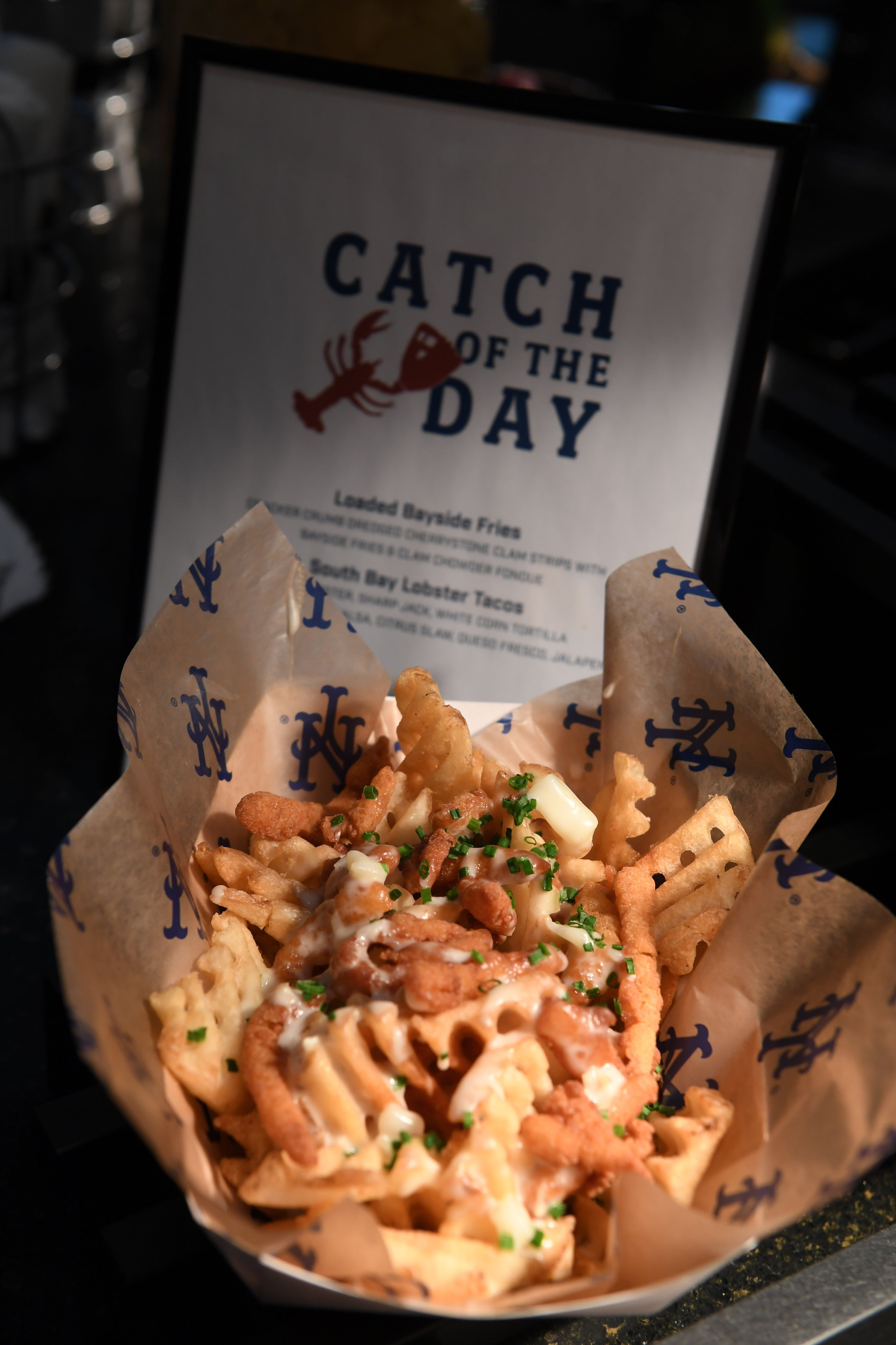 Loaded Bayside Fries Catch Of The Day