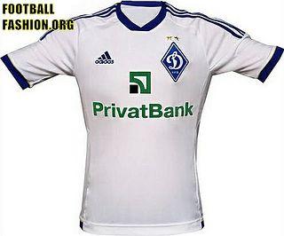 FC Dynamo Kyiv adidas 2012 13 Home Jersey  a900e8e2dae33