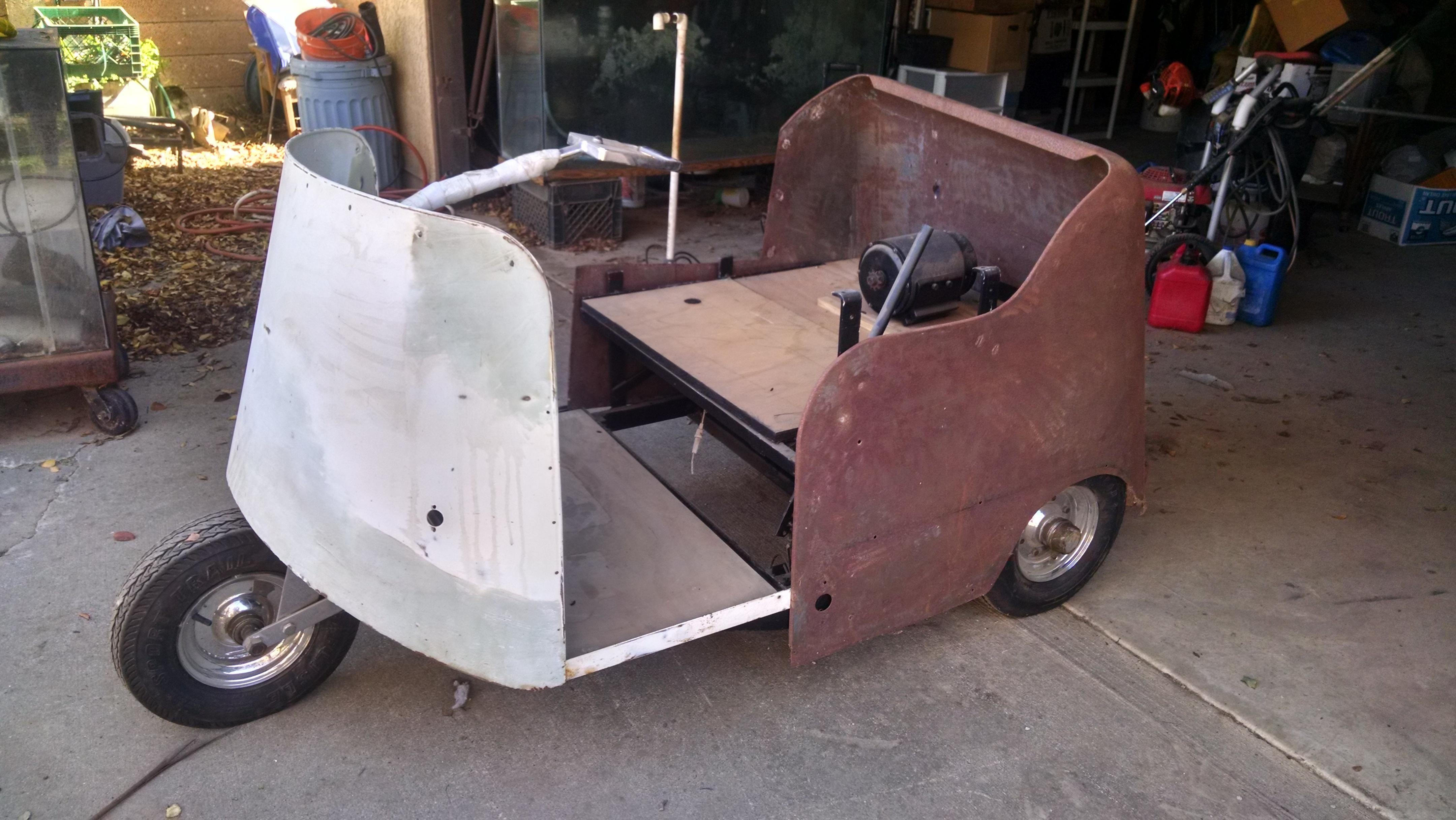 Golf Carts Rare Vintage Marketeer Golf Cart For Sale T