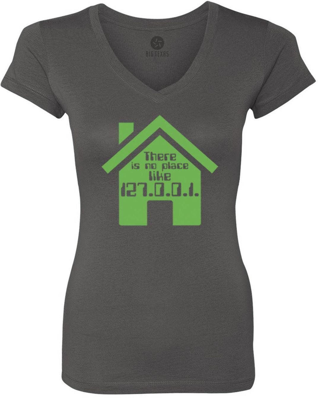 No Place Like Home (Green) Women's Short-Sleeve V-Neck T-Shirt