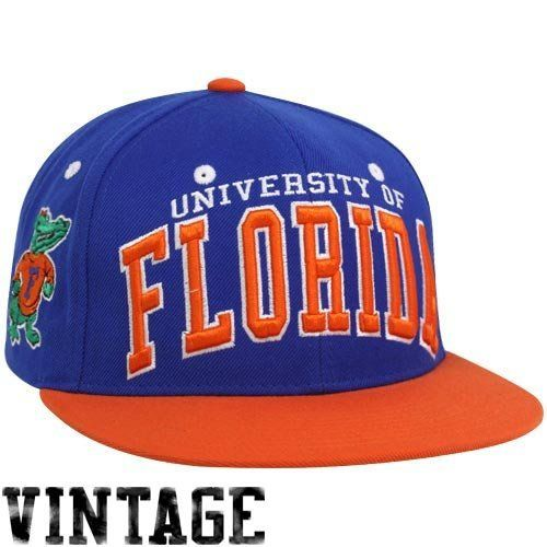 NCAA Zephyr Florida Gators Mens Superstar Snapback Hat Adjustable Orange