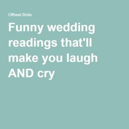 Super wedding ceremony script funny officiant ideas