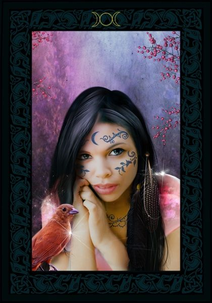 Wisdom Of The House Of Night Oracle Cards Card Of The Day High Priestess Of Fire Steemit House Of Night Oracle Cards Goddess Guidance Oracle