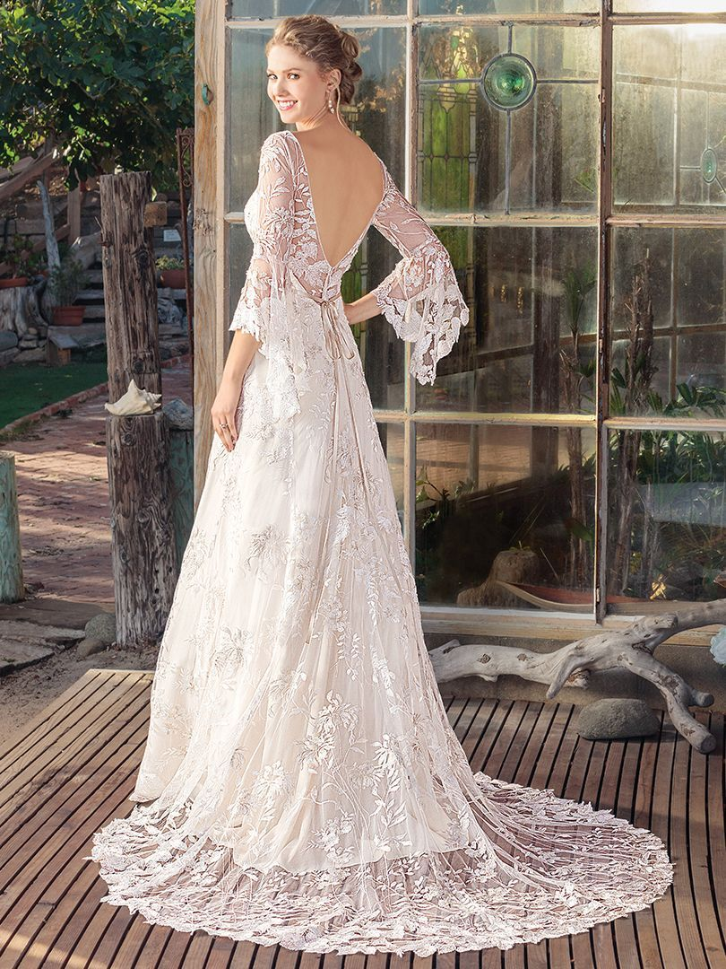While you may not want rain on your wedding day our rayne gown is a