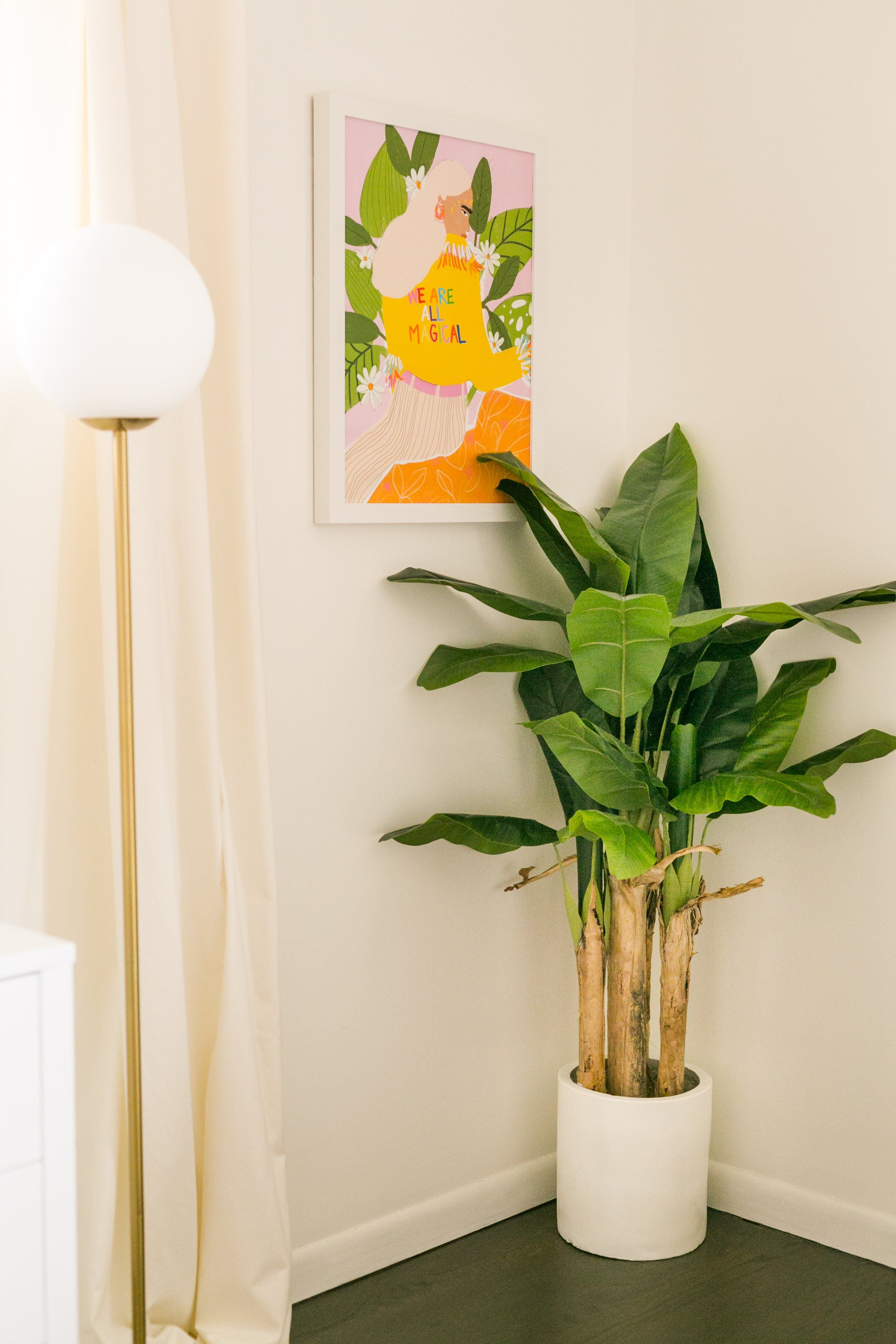 Idee Deco Plante Interieur laura's master bedroom refresh (before + after | idée de