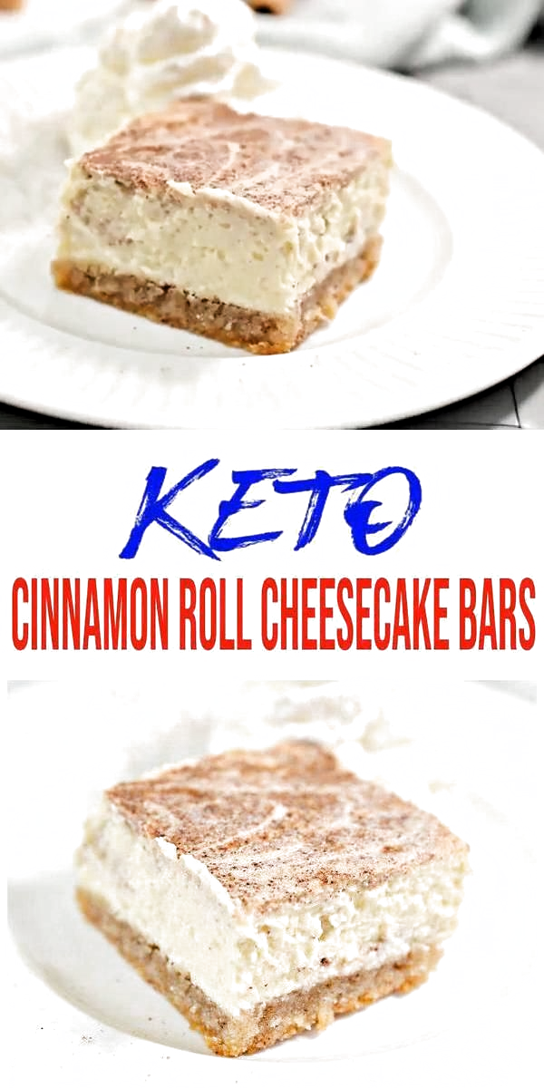 Keto Cinnamon Roll Cheesecake- {EASY} Low Carb Cheesecake Recipe – Simple K…