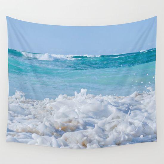 Beach Love Wall Tapestry