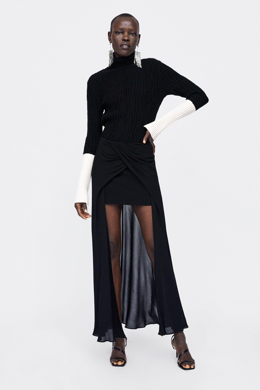 0437e93ec Faldas Fiesta Zara | Wig Elegance