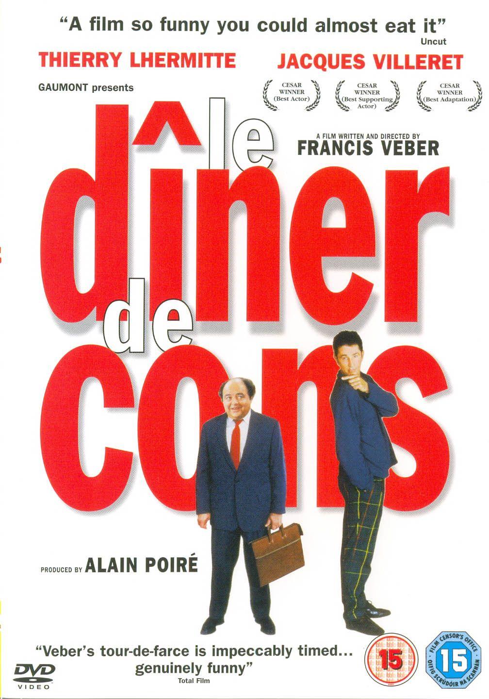 Film Le Diner De Cons : diner, Dîner, (1998), Frances,, Peliculas