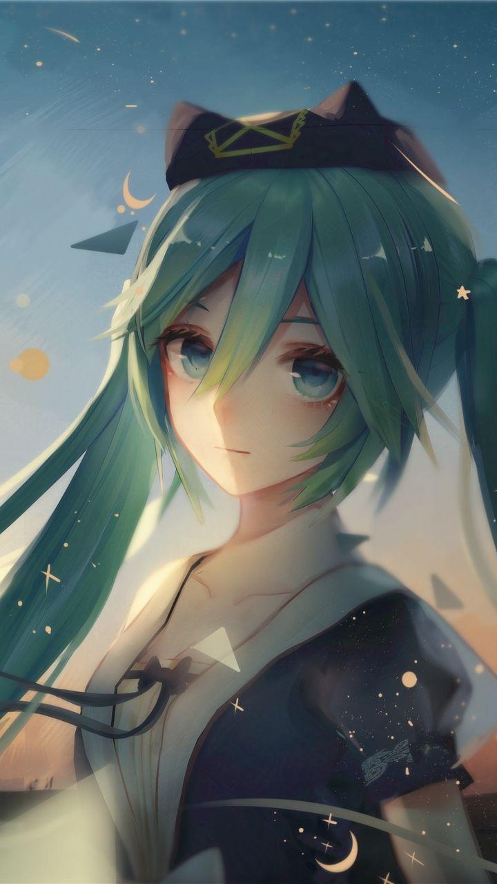 Hatsune Miku, beautiful, artwork, 720x1280 wallpaper