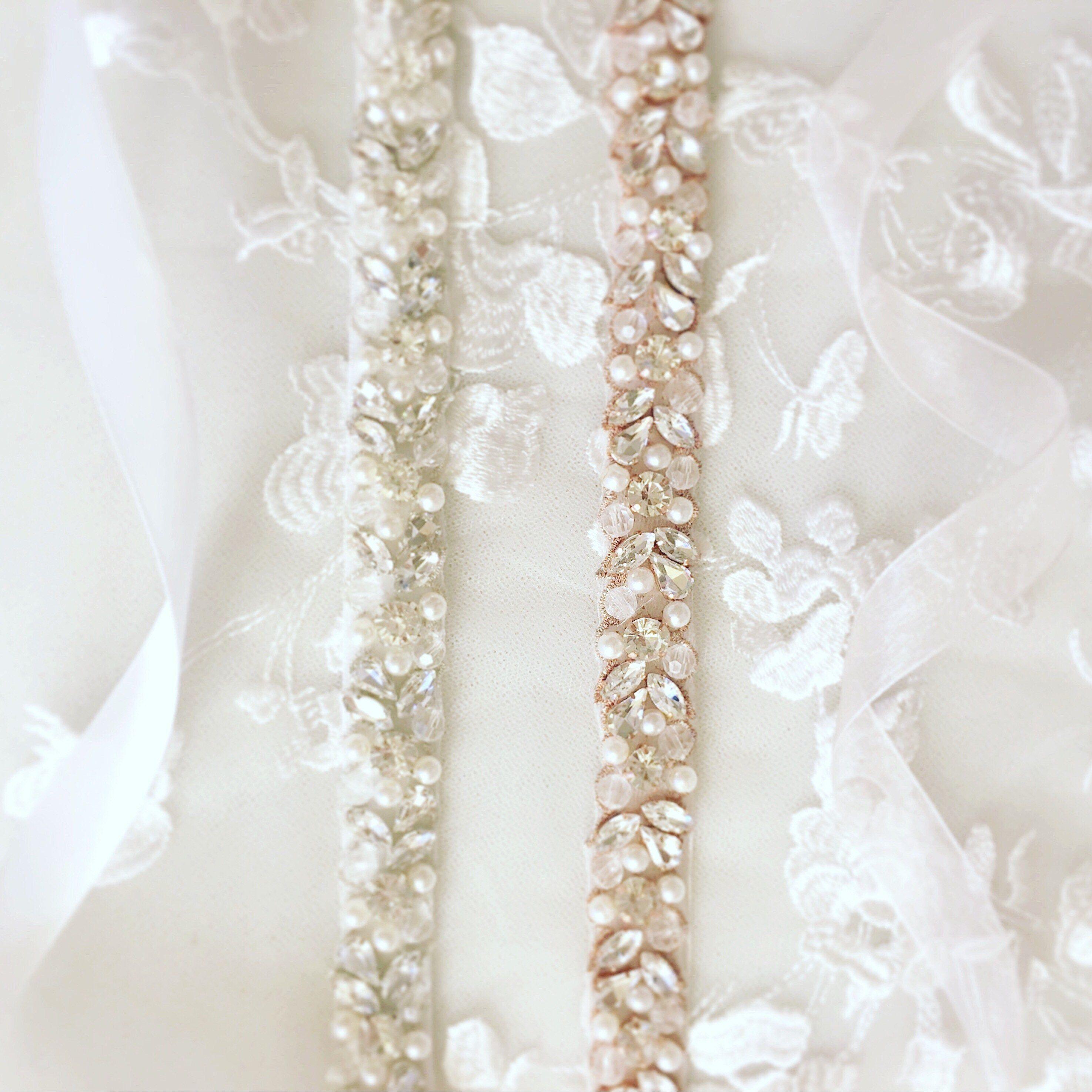 Bridal belt sashes rhinestone wedding bridal belt