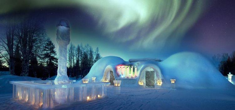 hotel de hielo cena de fin de año