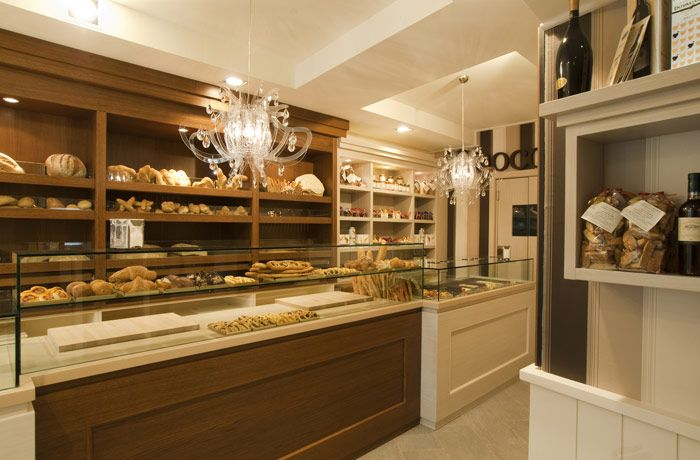 Bakery interior design italian style | bakery shop design ...