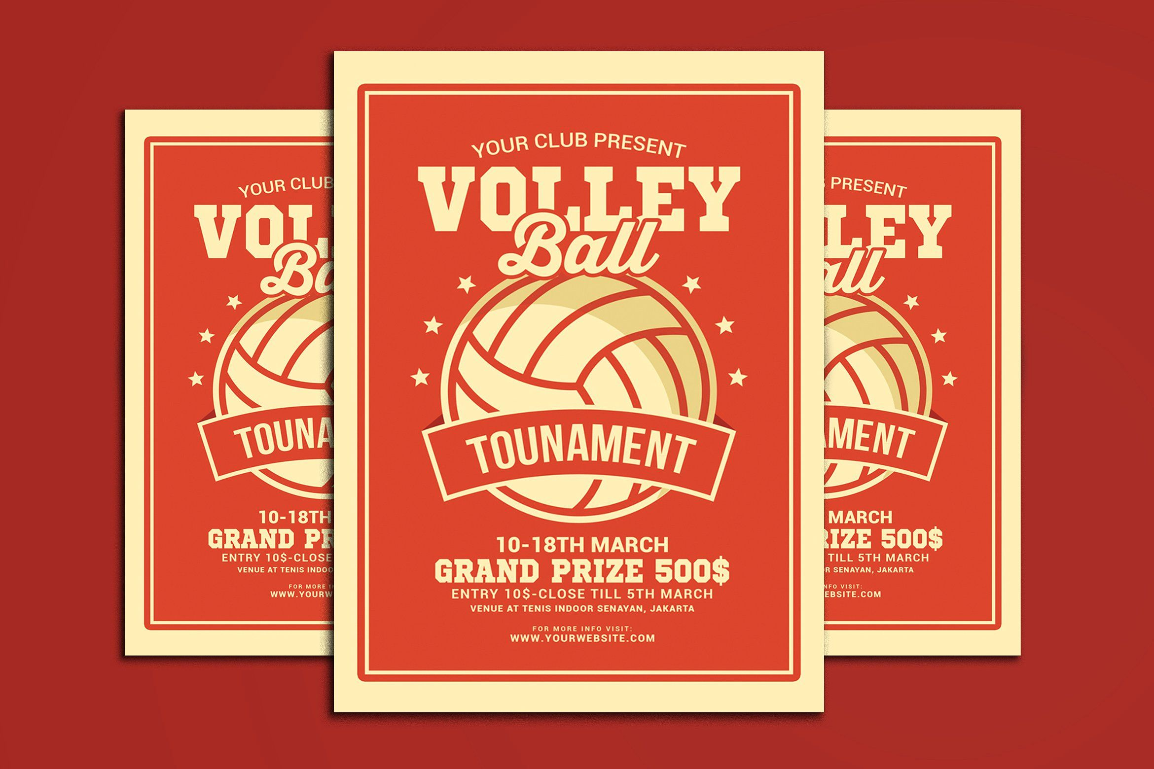 Volleyball Tournament Flyer Volleyball Tournaments Volleyball Flyer
