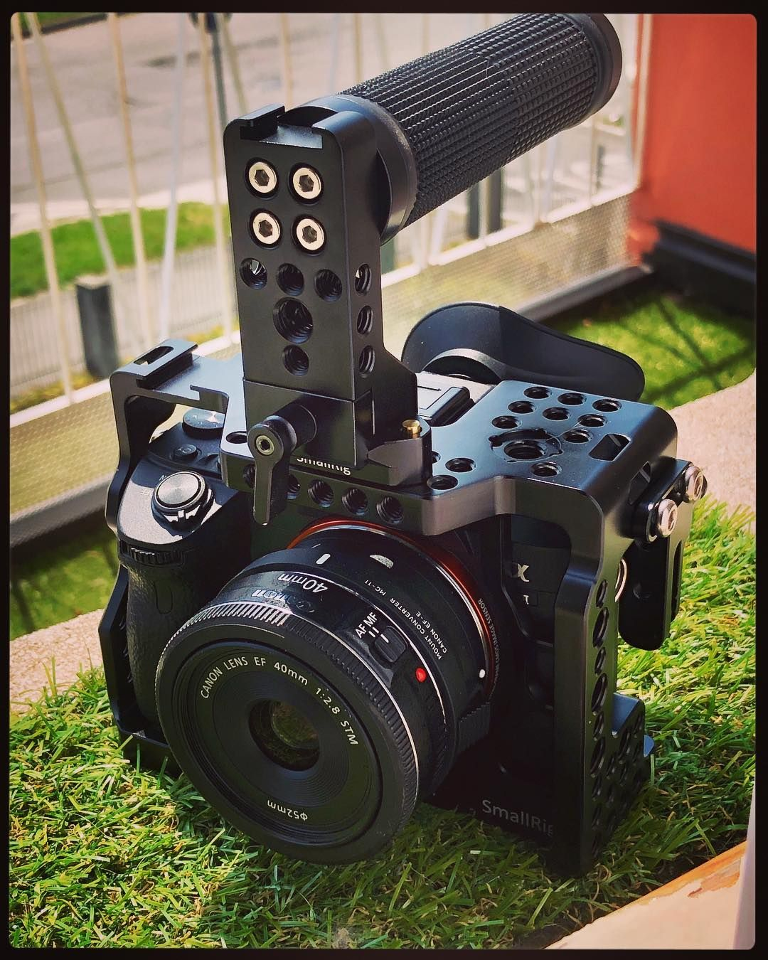SmallRig A7RIII Cage 2087 is exclusively designed for Sony  A7RIII/A7M3/A7III. It could offer lots of additional attachment options and  enables the camera to ...