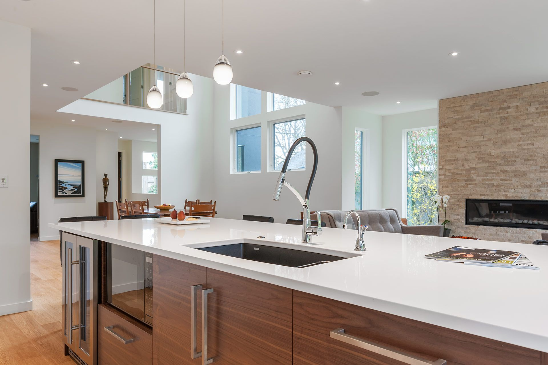 Learn about a Scandanavian-influenced kitchen design and millwork by ...