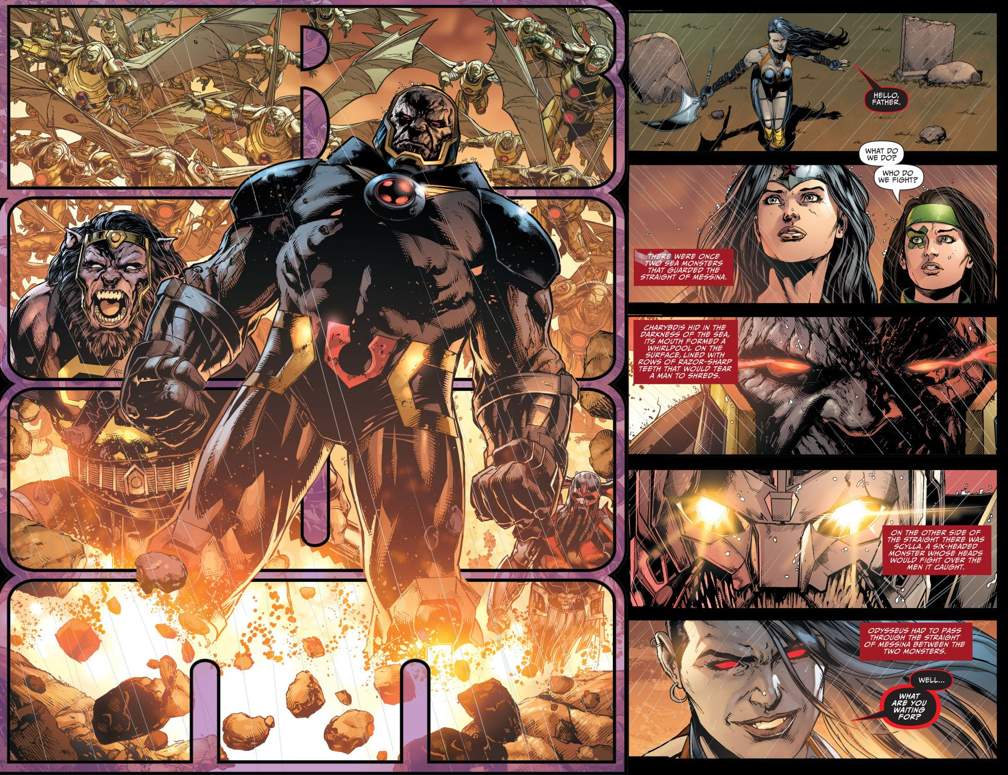 Darkseid War Justice League New 52 the-anti-monitor-faces-off-with ...