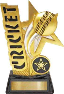 Cricket Shooting Star 155mm Awardsandtrophies Com Au Cricket Shooting Stars Trophy Design