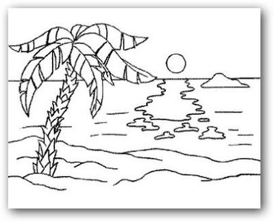 Dibujos Para Pintar Con Acuarelas Faciles Para Ninos Busqueda De Google Paisaje Para Colorear Paisajes Para Pintar Faciles Dibujos Para Colorear Paisajes