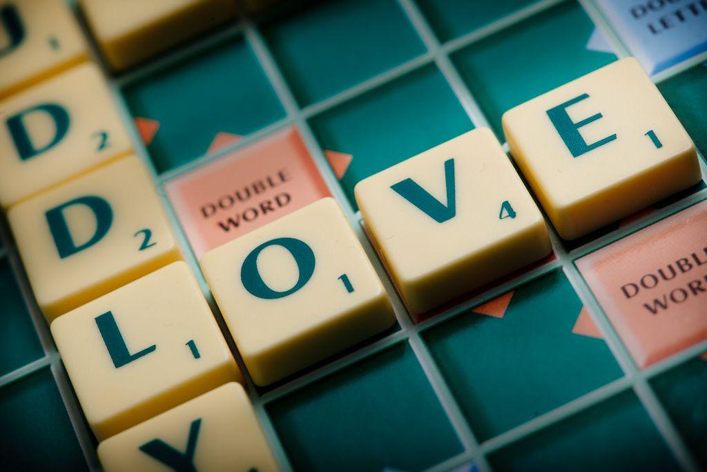 #scrabble #words #create #love