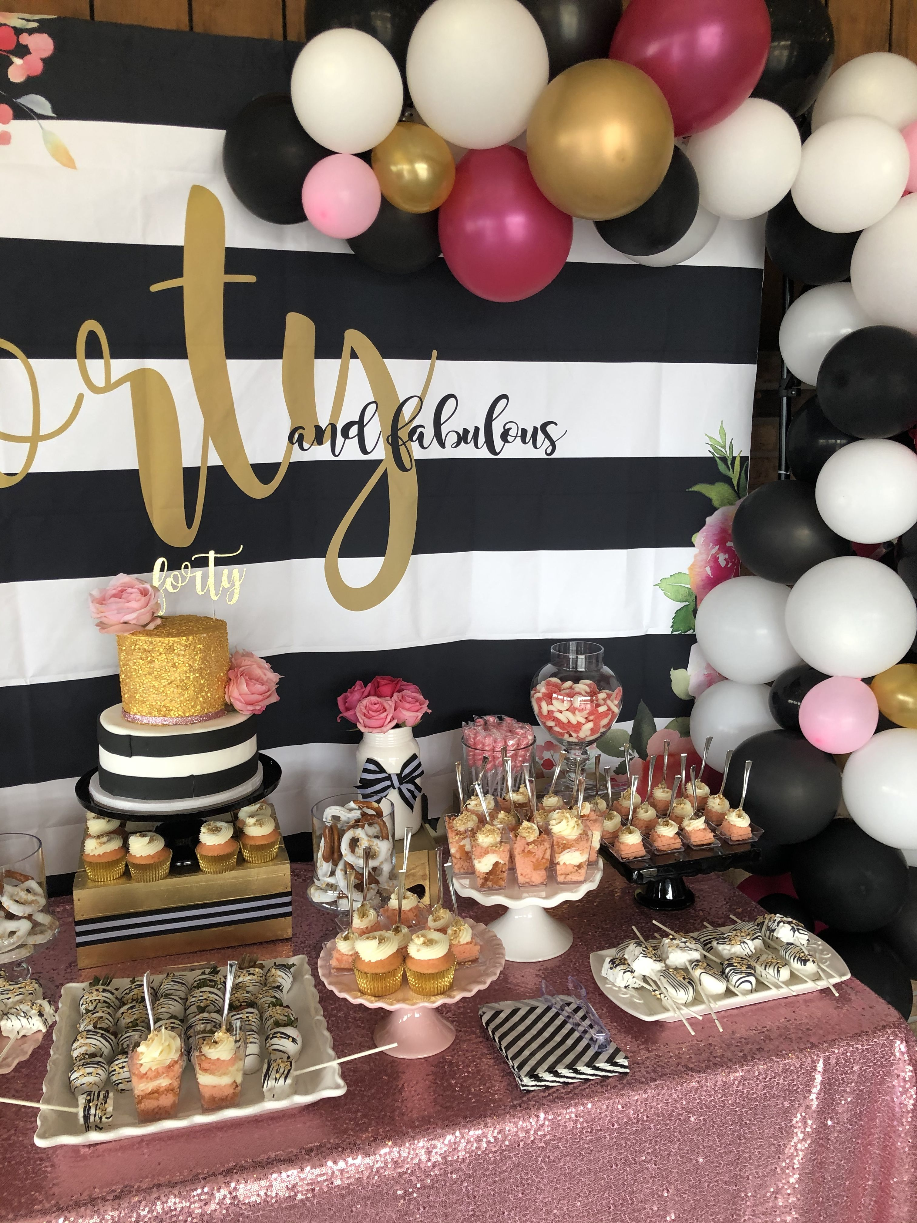 Kate Spade Birthday 40th Birthday For Women 40th Birthday Party Themes Birthday [ 4032 x 3024 Pixel ]